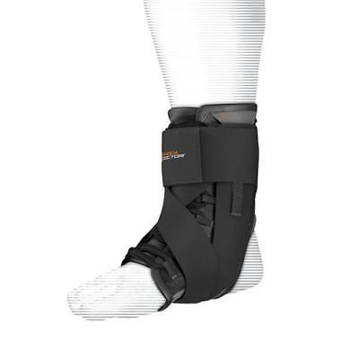SHOCK DOCTOR Ultra Wrap Lace Ankle Support in Black, White