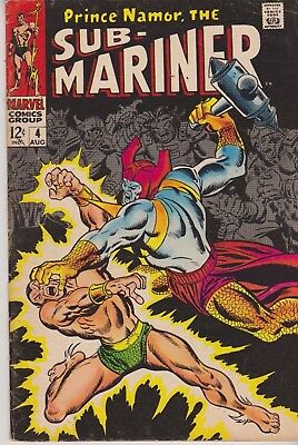 Prince Namor,the Sub-Mariner #1 1968 Silver Age Marvel Comics Group