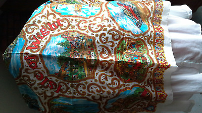 ladies vintage scarf tourist item from Isle of Wight