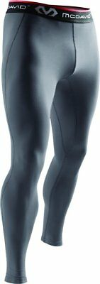 MCDAVID THERMAL COMPRESSION PANTS - LONG in Charcoal