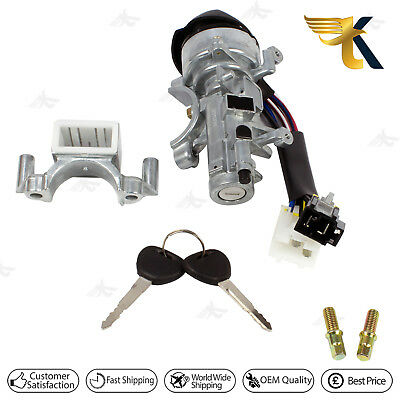 STEERING IGNITION LOCK HOUSING WITH KEYS For MITSUBISHI CANTER FE 1998-2005
