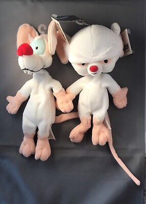 Pinky And The Brain Bean Bag Plush Toys 1996