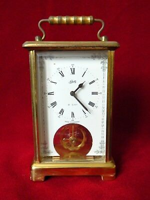 SCHATZ Vintage (59) 8 day carriage clock. Germany. Working order.