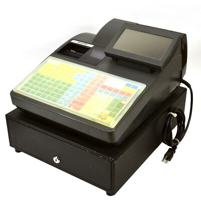"""Sharp UP-820F POS Terminal Two-Station Printer 6.5"""" Color Touch-Screen Display"""