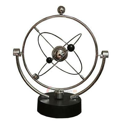 Kinetic Orbital Revolving Gadget Perpetual Motion Desk Art Toy Office Decor US