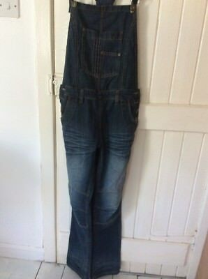 Ladies Size 12 Denim Dungarees
