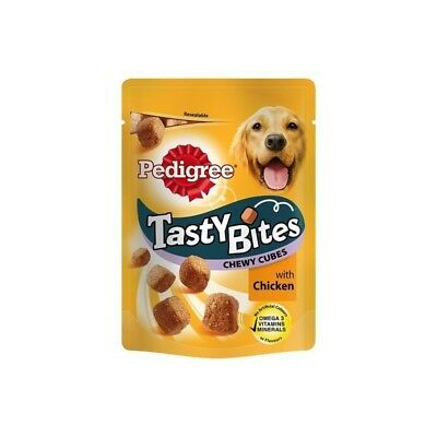 Pedigree TASTY BITES CHEWY CUBES AVES 130 gr