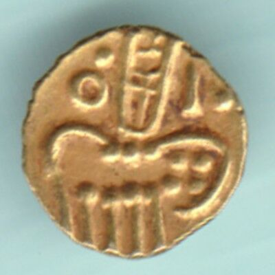 Dutch - Narsimha Pulicat - Gold Fanam - Rarest Variety Small Gold Coin