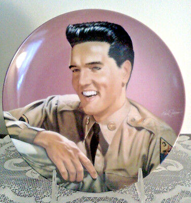 Elvis Presley~PRIVATE PRESLEY Commemorating the King PLATE # 257A~ Mint In Box