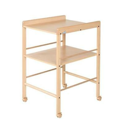 Geuther Table A Langer Naturelle + Etagere 4840Na