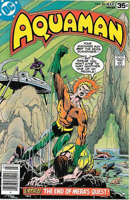 Aquaman Comic Book #60 DC Comics 1978 VERY FINE