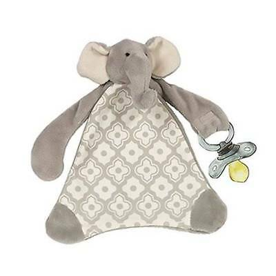 Maison Chic Gray Emerson the Elephant Paci Blankie