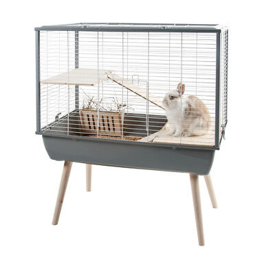CAGE POUR LAPIN/CAGE LAPIN NAIN/CAGE COCHON D'INDE GRISE Réf Z205621GRI