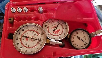 Mac Automatic Transmission And Engine Oil Pressure Gauge