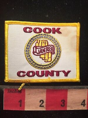 As-Is (stain) COOK COUNTY Illinois Patch S79P