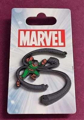 Disney Marvel Comics Doctor Octopus open Edition Pin New on Backing Card