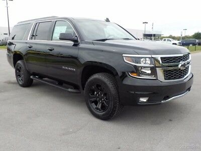 """2017 Chevrolet Suburban LT z71 4x4 Midnight Edition Luxury Package Black Heated Leather Black 18"""" Wheels Bose Navigation Driver Alert Package"""