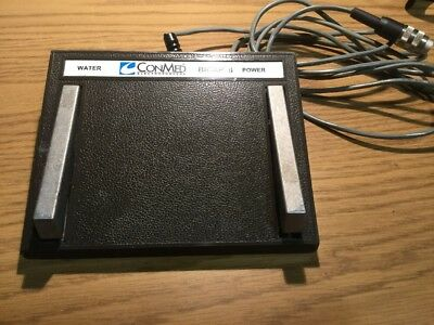 Conmed Electrosurgery Bicap 2 Water Power Foot Control