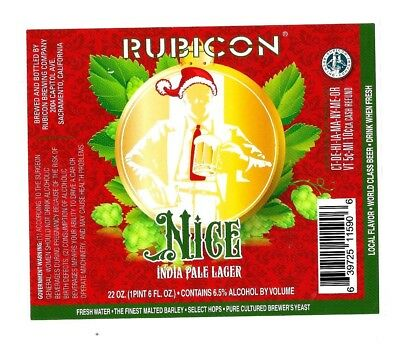 Rubicon Brewing beer labels