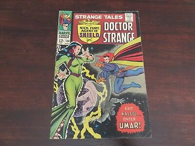 Strange Tales #150 (Nov 1966, Marvel) Silver Age VG+ reader copy