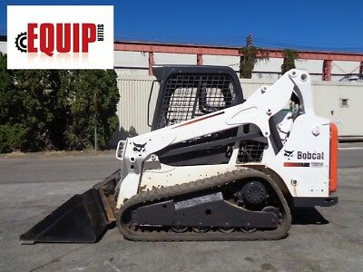2013 Bobcat T590 Track Skid Steer Loader - Auxiliary Hydraulics - Rubber Tracks