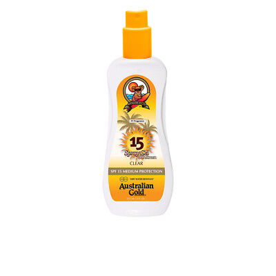 Cuerpo Australian Gold unisex SUNSCREEN SPF15 spray gel 237 ml