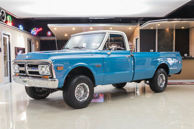 1972 GMC Sierra 1500  GMC 1500 4X4! GM 350ci V8 Crate Engine, TH350 Automatic, PS, PB, Disc & More!