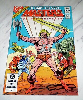 Masters of the Universe #1 NM/MT 9.8 OW pages Unrestored 1982 DC Bronze age