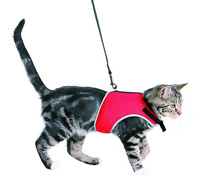 Trixie Adjustable Cat Harness with Lead 1.20 m