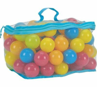 Plastic Balls for Children For Ball Pits Kids Multi Coloured Toys Play Pool NEW