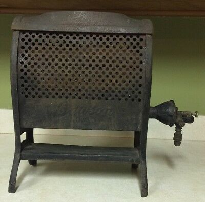 Antique Vintage Lawson No. 10 Cast Iron Metal Room Heater Water Heater 1918