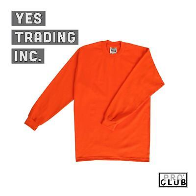 Construction Gear Men's Heavy Duty Long-Sleeve Tee-Shirts Thick 12 Colors