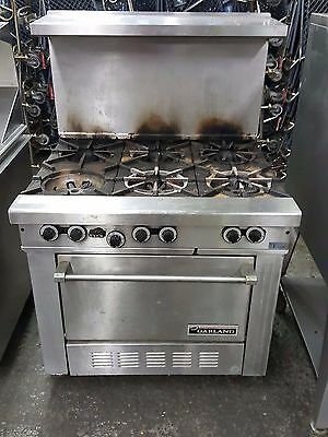 "Garland Starfire Series 36"" Medium Duty Gas Range H286"