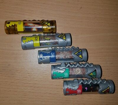 Power Rangers Dino Charge lot of 5 different chargers (lot 2)