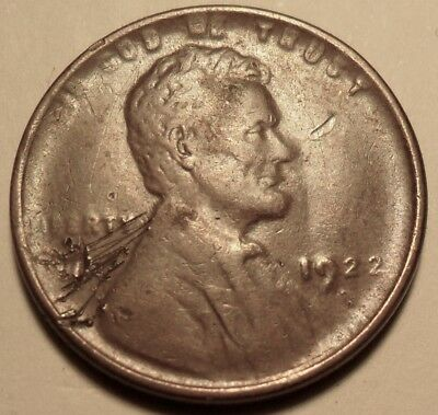 1922d Lincoln Cent