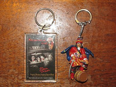 2 - Captain Morgan Keychains * FREE SHIPPING!!