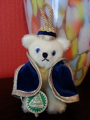 Hermann Christmas Ornament Teddy Bear Three Wise Men - Balthasar