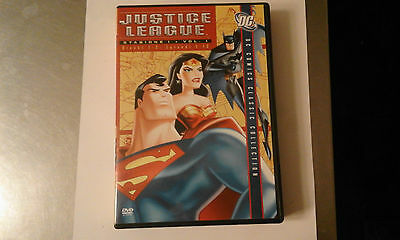 Dvd-Justice League-Stagione 1-Vol 1-Dischi 1/2-Eps 1-13-Ita-Warner Home Video
