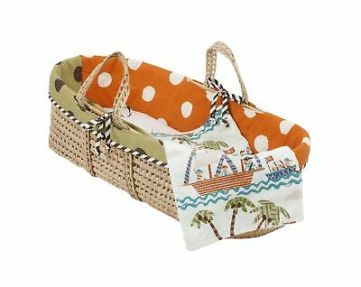 Cotton Tale Designs Moses Basket Aye Matie