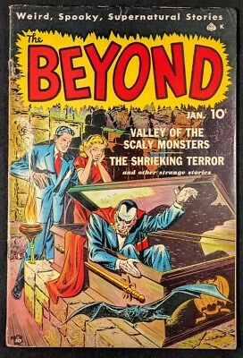 The Beyond #2 Golden Age Horror! Nice Shape! VG+ (Ace Magazines 1951)