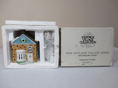 Nib Dept 56 Heritage Collection New England Village Series Apothecary Shop 65307