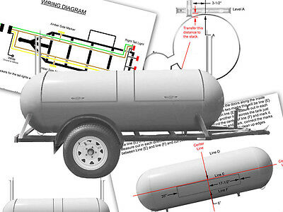 How to Build a BBQ Cooker Smoker Plans on CD