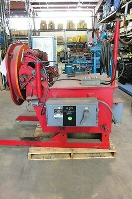 """WSF P-3000 Welding Positioner with 24"""" 3 Jaw Chuck"""