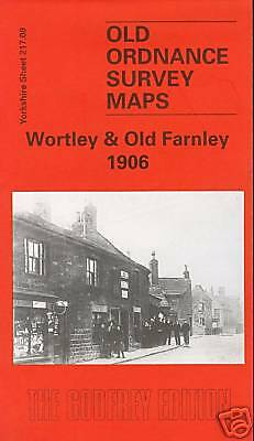 Old Ordnance Survey Map Wortley & Old Farnley 1906
