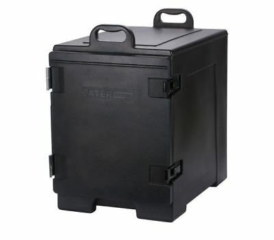 """Insulated Food Pan Carrier CaterGator 16 3/4"""" x 24"""" x 25"""" Black Front Loading.."""