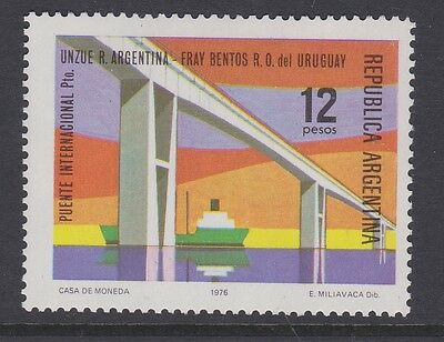 ARGENTINA 1976 International bridge MINT complete issue sg1525 MNH