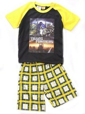 Transformers Summer Pyjamas - Interlock - Size 4