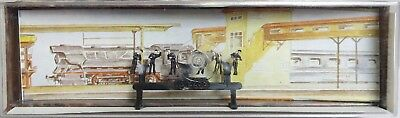"Merten 2268 - Z-Scale ""Locomotive Personal/Workers"" Figure Set NOS"