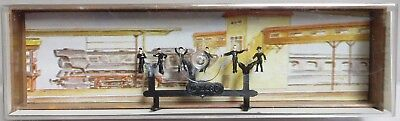 "Merten 2280 - Z-Scale ""Locomotive Personal/Workers"" Figure Set NOS"