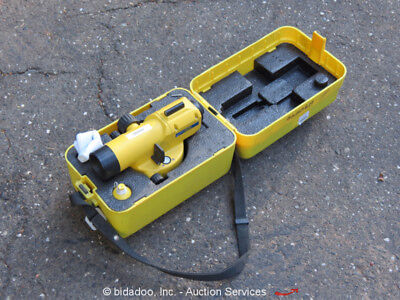 2012 Spectra AL28M Builders Laser 28X Magnification Hard Carry Case bidadoo